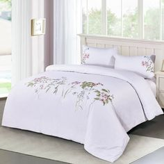Melange Home Duvet Cover Set Bedroom Comforter Sets, Duvet Sets, Duvet Cover Sets, Bedroom Colors, Home Decor Bedroom, Country Bedding Sets, House Beds, Bed Spreads, Luxury Bedding
