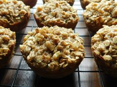 I love a good oatmeal muffin, I can't eat oatmeal as a meal, just the texture of sloppy oatmeal…