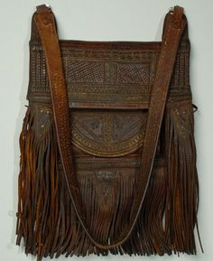 thursdayofravens: Moroccan Leather Bag