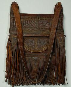 thursdayofravens:  Moroccan Leather Bag