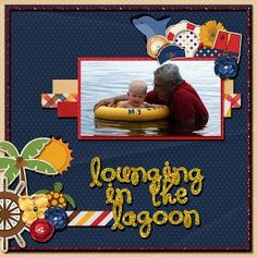 lounging in the lagoon ladybug scraps come sail with me
