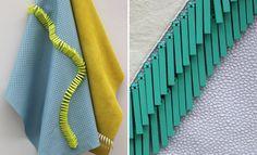 Elinor McCue New Designers 2015 Design Textile, Textile Patterns, Textile Art, Embroidery Fashion, Beaded Embroidery, Fashion Line, Fashion Details, Appropriation Culturelle, Creative Textiles