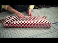 This looks like the best way to wrap! The edges of the paper virtually disappear!