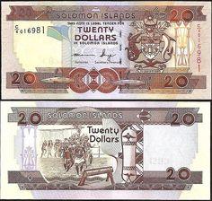 20 Dolárov Šalamúnove ostrovy 2006-11, Pick 28