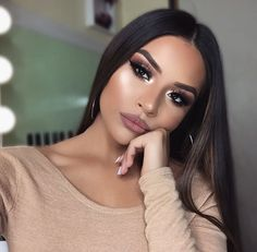 This is my Bronzed Goddess Makeup Tutorial. This bronze makeup tutorial and bronzed makeup look is probably one of my favorite make up tutorials of all time. Flawless Makeup, Gorgeous Makeup, Glowy Makeup, Beauty Make-up, Hair Beauty, Natural Beauty, Eyeshadow Makeup, Hair Makeup, Liquid Makeup