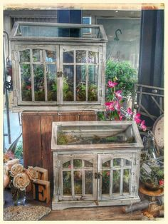 Woodland rustic terrarium fairy garden...all made with love instore now