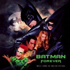 "Compilado ""Batman Forever - Original music from the motion picture"" - 1995 Contiene las canciones: * Hold Me, Thrill Me, Kiss Me, Kill Me ""by U2"" * One time too many ""by PJ Harvey"" * Where are you now? ""by Brandy"" * Kiss from  a rose ""by Seal"" * The hunter gets captured by the game ""by Massive Attack with Tracey Thorn"" * Nobody lives without love ""by Eddi Reader"" * Tell me Now ""by Mazzy Star"" * Smash it up ""by The Offspring"" * There is a lighr ""by Nick Cave"" y otras"