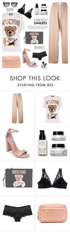 """A Bear!"" by makeupgoddess ❤ liked on Polyvore featuring Puma, Moschino, Steve Madden, Bobbi Brown Cosmetics, Dolce&Gabbana and Joe Fresh"