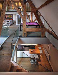 St Pancras Penthouse Apartment London 5 Bursting With Personality: Charming  St. Pancras Penthouse In Design Design Design