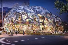 Amazon's giant biodome approved for the streets of Seattle | The Verge