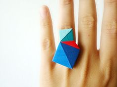 geometric ring | Tumblr