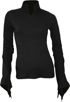 High neck Longsleeve Top by Spiral Direct .. <3