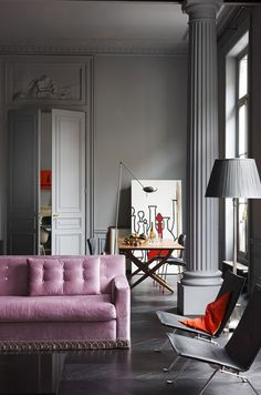 Home and Delicious: 10 rooms – pink flair