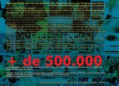 500 mil agradecimentos em 100 Viagens