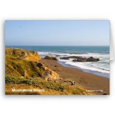 Moonstone Beach Cambria California Products Greeting Card, and the Postcards, too! http://www.zazzle.com/moonstone_beach_cambria_california_products_card-137214629437570853#