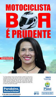 Anúncio I Para Jornal - Dia Do Motociclista 2016 - Cliente Gov. Do Piauí