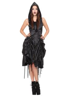 A dress with a hood!!!!!!! Omg gotta have it!!!