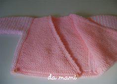 Casa da mami: receita de casaquinho de bebe em trico e varios tuto