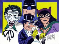Happy 75th anniversary, Batman! Original illustration by Sheldon Moldoff