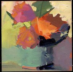 "Daily+Paintworks+-+""2245+Tendrils""+-+Original+Fine+Art+for+Sale+-+©+Lisa+Daria"