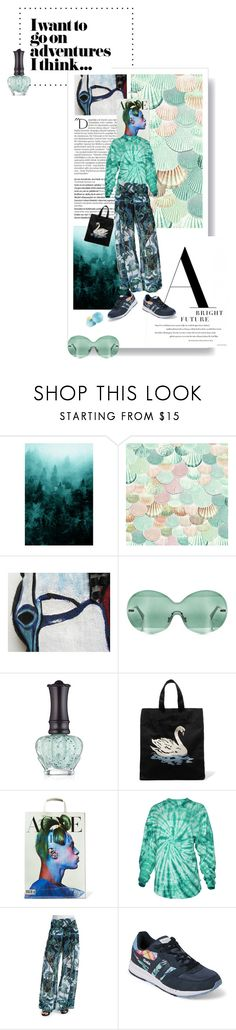 """""""I want to go on adventures I think..."""" by yee-yan ❤ liked on Polyvore featuring Balmain, Marni, Anna Sui, STELLA McCARTNEY, Acne Studios, Venley, Just Cavalli and Gola"""