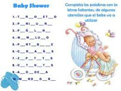 Juegos Para Baby Shower-Printable Baby Shower Games in Spanish | I'm Super Mommy