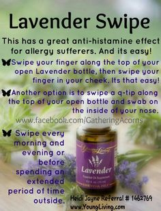 YoungLiving Lavender essential oil. So good for so many things! https://www.youngliving.com/signup/?site=US&sponsorid=1242516&enrollerid=1242516