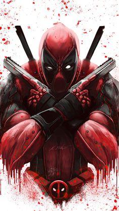 Deadpool Art, Deadpool And Spiderman, Spiderman Art, Marvel Phone Wallpaper, Deadpool Hd Wallpaper, Iphone Wallpaper, Wallpaper Wallpapers, Mobile Wallpaper, Hero Marvel