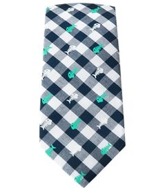 Swimmer Gingham - Green (Cotton Skinny) | Ties, Bow Ties, and Pocket Squares | The Tie Bar