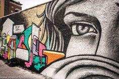Street Art At Hanover Quay, Dublin - Kings Of Concrete 2012.