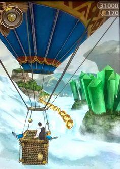 Whimsy Woods Air Balloon - App Art Favorites Temple Run: Oz