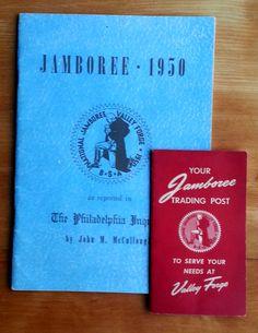 Boy Scout 1950 Jamboree Memorabilia, Valley Forge, PA