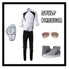 """""""STYLE PASSION"""" by jamakovic-emir ❤ liked on Polyvore featuring AMIRI, Vans, Tom Ford, men's fashion and menswear"""