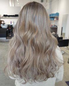 hair beauty - Real Human Hair Clip Ins Silky Straight 16 Blonde Brown Blonde Hair, Platinum Blonde Hair, Ash Hair, Light Ash Brown Hair, Light Blonde, Human Hair Clip Ins, Long Face Hairstyles, Fancy Hairstyles, Aesthetic Hair