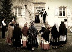 Portuguese folk costume