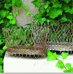 Nested French Wire Baskets (Set-2)