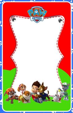 Paw Patrol Invitation Template Best Of Invitation Template or Card Idea Poster Etc Double Birthday Parties, 2nd Birthday, Paw Patrol Birthday Invitations, Baby Shower Invitations, Baseball Card Template, Cumple Paw Patrol, Birthday Greeting Cards, Boarders, Invitation Templates