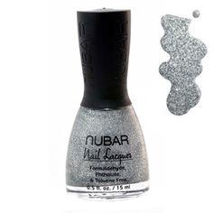 Nubar Heavy Silver Glitter 15ml  at BeautyBay.com