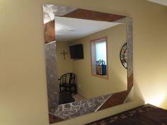 Stainless steel & heated copper mirror badman.com | Badman Design | Grand Forks, ND