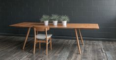 Seno Oak Dining Table, Extendable - Dining Tables - Article | Modern, Mid-Century and Scandinavian Furniture