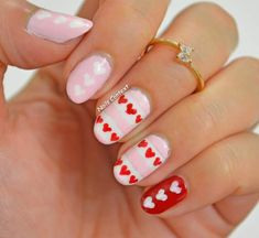 Sweetheart Nail Styling For Party Looks #Valentinesdayideas #ValentinesDayNails #ValentinesDayNailArt #valentinesday #Valentinesdayfashion #Valentinesdaynaildesigns #ValentinesdayNailArtDesigns #RedNails #Rednailart