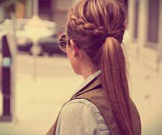 Un peinado simple que hace la diferencia!