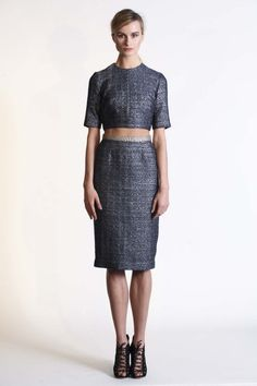 All the runway looks from Rebecca Vallance : New York Ready-to-Wear Autumn/Winter 2014/15