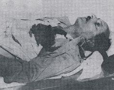 Mario Falber era policía universitario. Dentro del recinto del Alma Máter fue ultimado por las fuerzas del dictador el día del asalto al Palacio Presidencial.(1957)