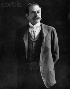 Stanford White - Famous architect of the rich and famous at the height of his fame.  c 1906