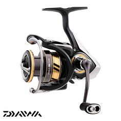 The carbon frame makes the Legalis LT Spinning Reel lite and tough for any fishing situation. Digigear drive system is smooth and rugged. Air bail and Air Rotor for lite weight and performance. Machined aluminum screw in handle. 6 bearing system is smo Fishing Knots, Fishing Reels, Fishing Tips, Fishing Lures, Fly Fishing, Spinning Rods, Hand Spinning, Get Well Soon Gifts, Saltwater Fishing