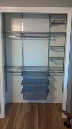 The best closet system ever! Thanks Elfa :-)