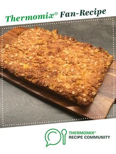 Recipe Cornflake honey slice by Karina learn to make this recipe easily in your kitchen machine and discover other Thermomix recipes in Baking - sweet. Recipes Dinner, Dessert Recipes, Desserts, Vegetarian Breakfast, Breakfast Recipes, Cereal Recipes, Recipe Community, Bellini, 4 Ingredients