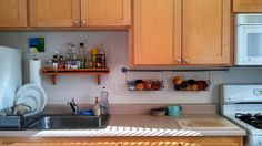 Rebecca's 'Removable Solutions' Kitchen