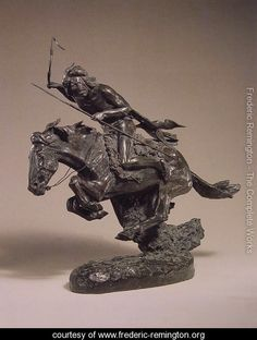 The Cheyenne I - Frederic Remington - www.frederic-remington.org